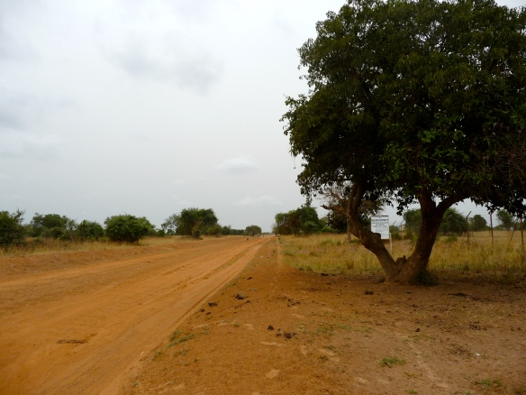 Main road through Buliisa, Buliisa Town Council